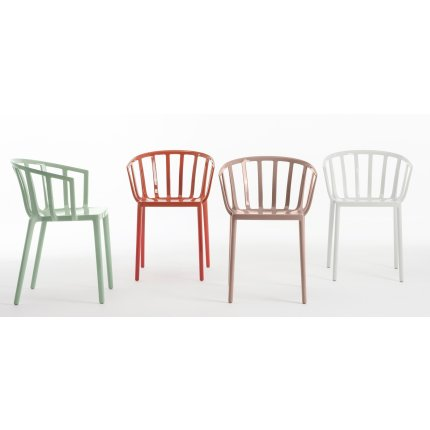 Scaun Kartell Venice design Philippe Starck verde salvie