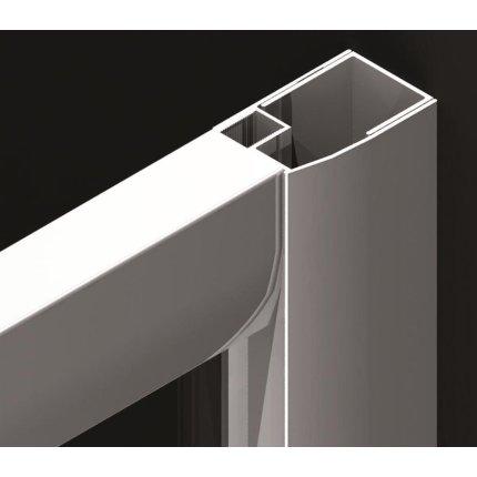 Paravan cada Radaway Vesta DWJ 180, usa culisanta, 180x150cm, reversibil