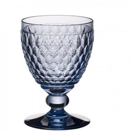 Pahar vin rosu Villeroy & Boch Boston Coloured albastru, 132mm, 0.31 litri