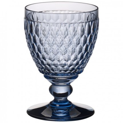 Pahar apa Villeroy & Boch Boston Goblet albastru 144mm, 0,40 litri