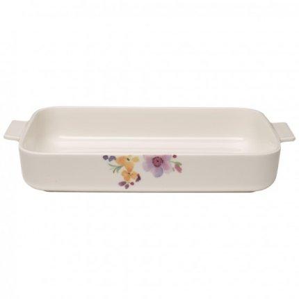 Vas ceramic rectangular Villeroy & Boch Mariefleur Basic 34x24cm