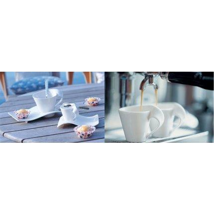 Ceasca si farfuriuta espresso Villeroy & Boch NewWave Caffe