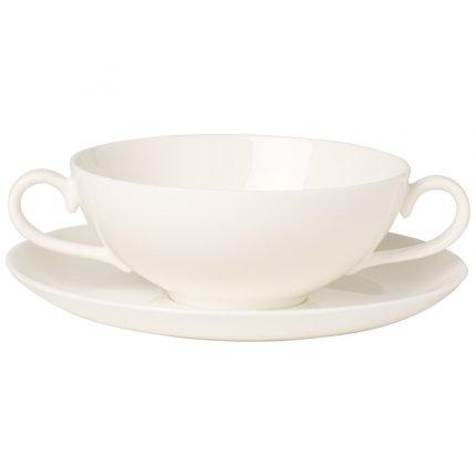 Ceasca si farfuriuta supa Villeroy & Boch Royal 0.40 litri