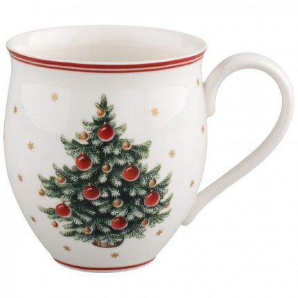 Set cani Villeroy & Boch Toy's Delight X-mas tree, 2 piese