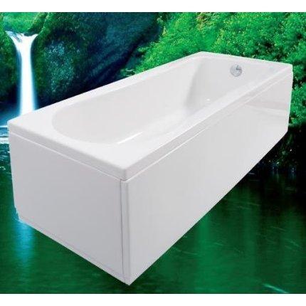 Cada rectangulara cu hidromasaj Vilux Florence 170x70cm cu sistem Combi Touch