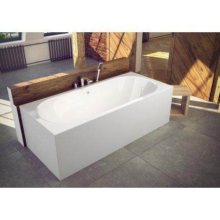 Cada baie rectangulara Besco Vitae 150x75cm, acril