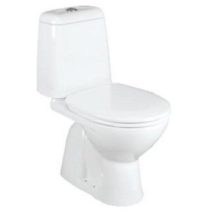 Set complet vas WC Vidima Sirius cu rezervor si capac, evacuare verticala