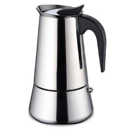 Cafetiera espressor Karl Weis 16976 6 cesti, inox