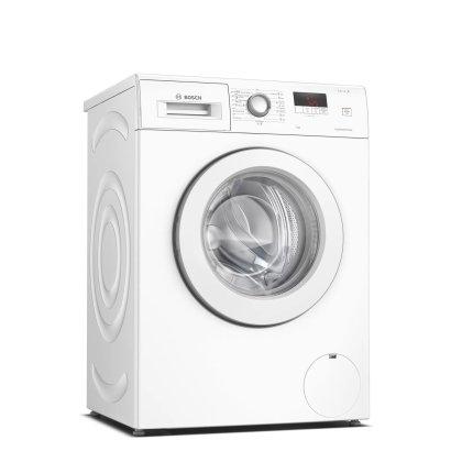 Masina de spalat rufe Bosch WAJ24060BY Serie 2, 7kg, 1200rpm, EcoSilence Drive, clasa A+++, alb