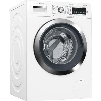 Masina de spalat rufe Bosch WAW326H0EU Home Connect, i-Dos, 9kg, 1600rpm, alb, Clasa A+++