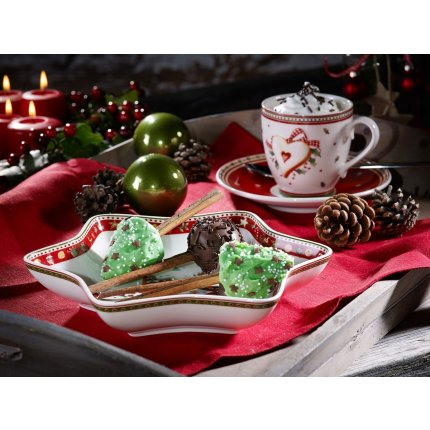 Farfuriuta pentru ceasca de cafea Villeroy & Boch Winter Bakery Delight 14cm