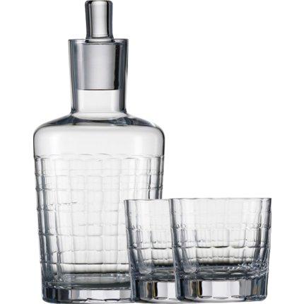 Set Zwiesel 1872 Hommage Carat Whisky, design Charles Schumann, carafa 500ml si 2 pahare 397ml