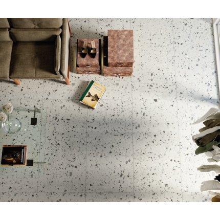 Gresie portelanata rectificata FMG Venice Villa 60x60cm, 10mm, White Strutturato