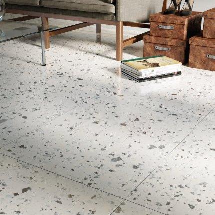 Gresie portelanata rectificata FMG Venice Villa 20x20cm, 10mm, White Levigato