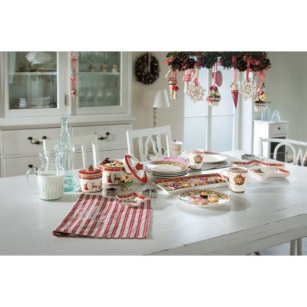 Recipient cu capac Villeroy & Boch Winter Bakery Delight Pastry 11x13cm
