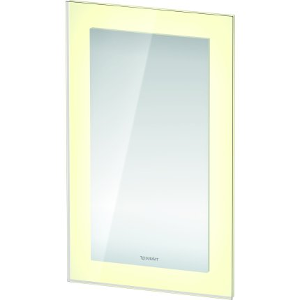 Oglinda Duravit White Tulip cu iluminare LED si senzor, 75x45cm