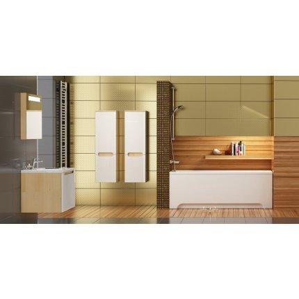 Dulap inalt tip coloana Ravak Concept Classic SB-350, 35x37x120cm, dreapta, latte-alb