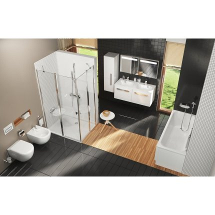 Oglinda Ravak Concept Chrome 80x55x7cm, cappuccino