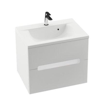 Dulap baza pentru lavoar Ravak Concept Classic II SD 700 cu doua sertare, 70x49x60cm, alb