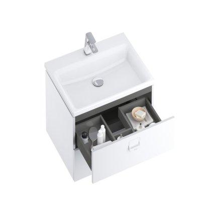 Dulap baza Ravak SD Comfort 800 cu 2 sertare, 80x50cm, alb