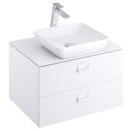 Blat pentru lavoar Ravak Comfort 800, 80x46cm, alb
