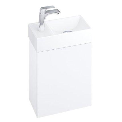 Dulap baza Ravak Veda 400 cu o usa, 40x22x50cm, alb