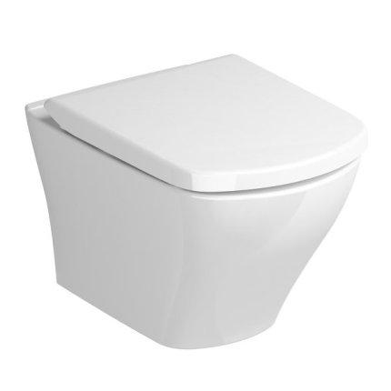 Capac WC Ravak Concept Classic cu inchidere lenta, alb