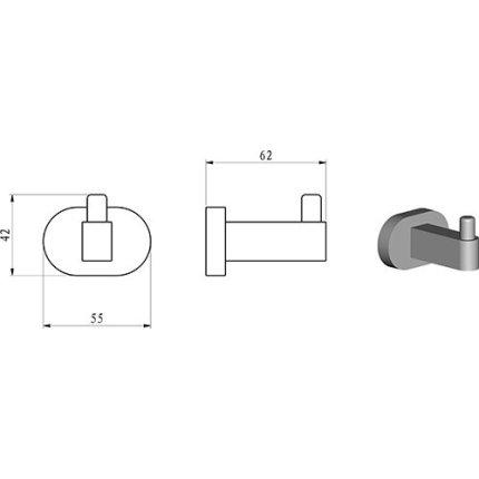 Cuier Ravak Concept Chrome CR 110