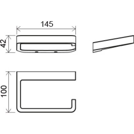 Suport hartie igienica Ravak Concept 10°