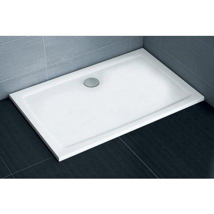 Cadita de dus rectangulara Ravak Gigant Pro Flat 120x80cm, alb