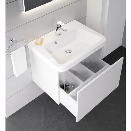 Lavoar Ravak Concept 10° 55x45, alb