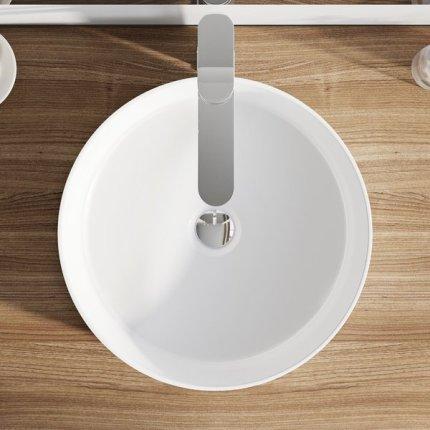 Lavoar tip bol Ravak Uni Slim ceramic 40cm, h12cm, alb