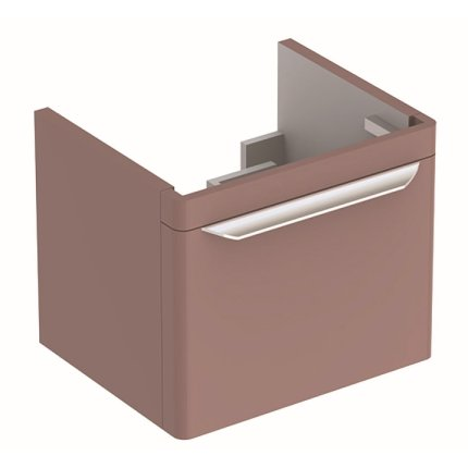 Dulap baza Geberit myDay 49.5cm cu un sertar, taupe lucios