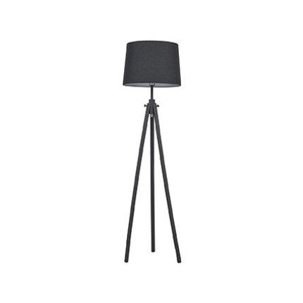 Lampadar Ideal Lux York PT1, 1x60W, 48x164cm, negru