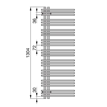 Radiator Zehnder portprosop Yucca Asymmetric 1400x400 mm cromat Functionare electrica