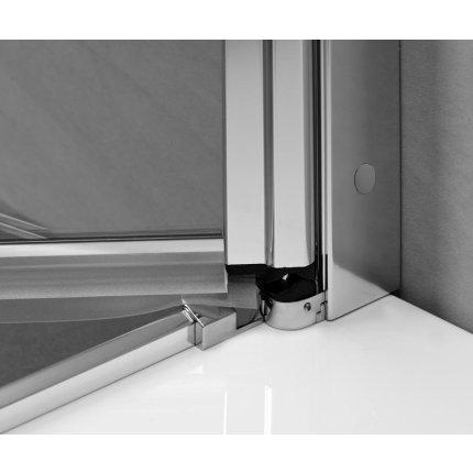 Paravan cada Radaway EOS II PND 110/R, doua elemente unul fix si unul mobil, 110 cm, deschidere dreapta