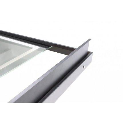 Oglinda cu iluminare LED Sanotechnik Soho 60x80cm cu etajera si dezaburire