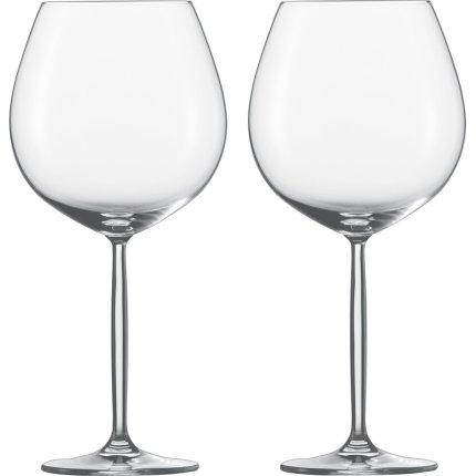 Set 2 pahare vin rosu Schott Zwiesel Diva Burgundy 839ml