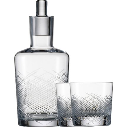 Set Zwiesel 1872 Hommage Comete Whisky, design Charles Schumann, carafa 500ml si 2 pahare 397ml