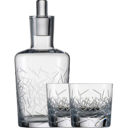Set Zwiesel 1872 Hommage Glace Whisky, design Charles Schumann, carafa 500ml si 2 pahare 397ml