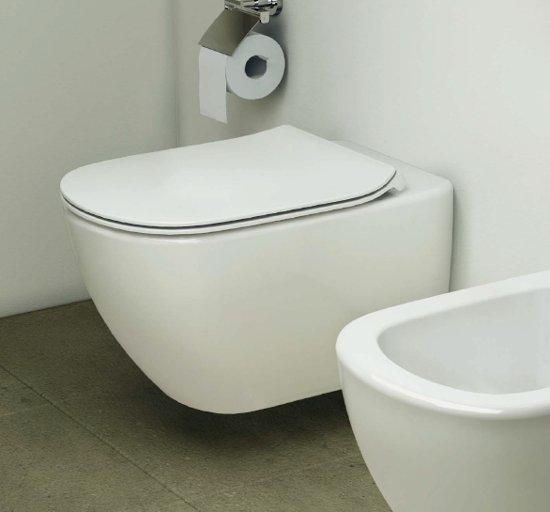 Vas wc suspendat ideal standard tesi aquablade t007901 for Tesi design ideal standard