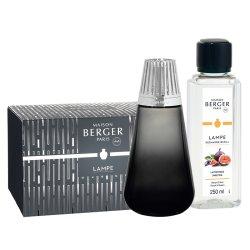 Lampi catalitice Set Berger lampa catalitica Berger Amphora Noire cu parfum Lait de Figue