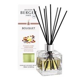 Cadouri Craciun & Decoratiuni Difuzor parfum camera Berger Bouquet Parfume Cube Poussiere d'Ambre 125ml