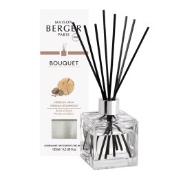 Cadouri Craciun & Decoratiuni Difuzor parfum camera Berger Bouquet Parfume Cube Cedre du Liban 125ml