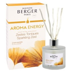 Cadouri Craciun & Decoratiuni Difuzor parfum camera Berger Aroma Energy Zestes Toniques180ml