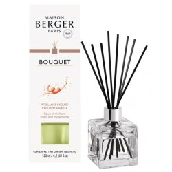 Difuzoare parfum Difuzor parfum camera Berger Bouquet Parfume Cube Exquisite Sparkle 125ml