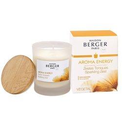 Lumanari, Lumini & Arome Craciun Lumanare parfumata Berger Aroma Energy Zestes Toniques 180g
