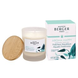 Default Category SensoDays Lumanare parfumata Berger Aroma Happy Fraicheur Aquatique 180g