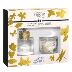 Cadouri Craciun & Decoratiuni Set Berger Duo Lolita Lempicka Bouquet Parfume 80ml + lumanare parfumata 80g