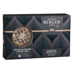 Lumanari & Parfumuri ambient Set odorizant masina Berger Relaxing Escapade + rezerva ceramica Soleil Divin